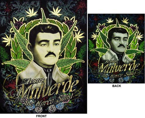 495x404 Gres Tatoo Knowing Jesus Malverde Tattoo Images