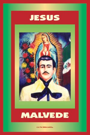 300x450 Spiritual Supplies Jesus Malverde Vigil Candle Lucky Mojo Catalogue