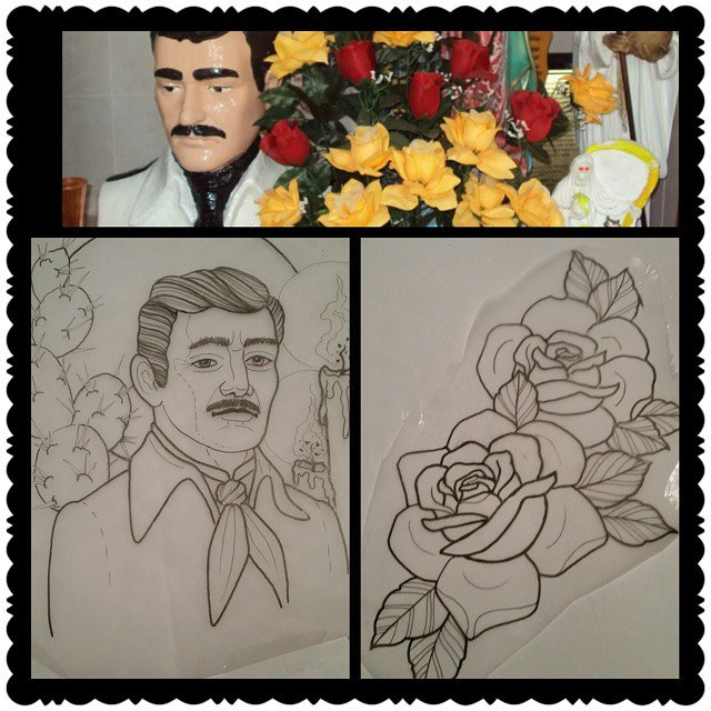640x640 And The Last One For Next Week. Jesus Malverde For My
