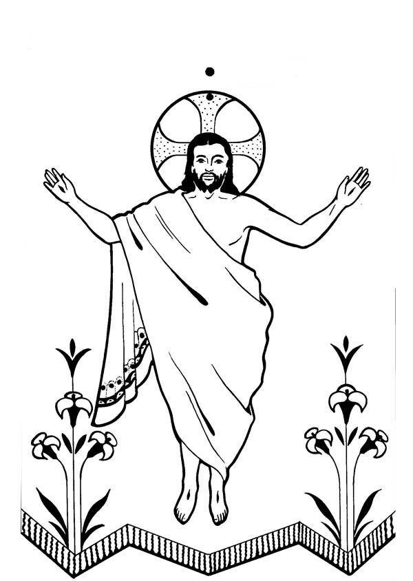 600x844 Collection Of Risen Jesus Clipart High Quality, Free