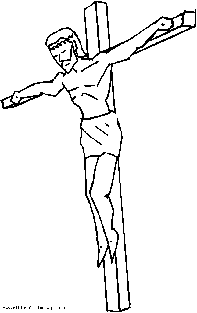 Jesus On The Cross Drawing Easy At Getdrawings Com Free For