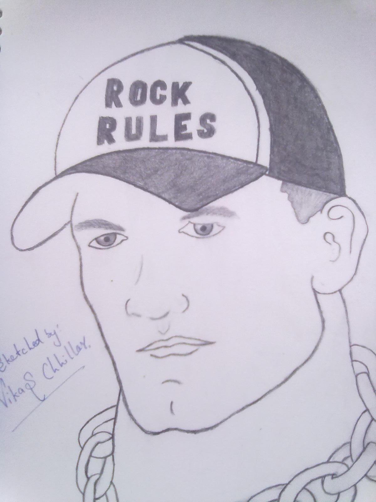 1200x1600 John Cena Sketches John Cena Sketch Desipainters