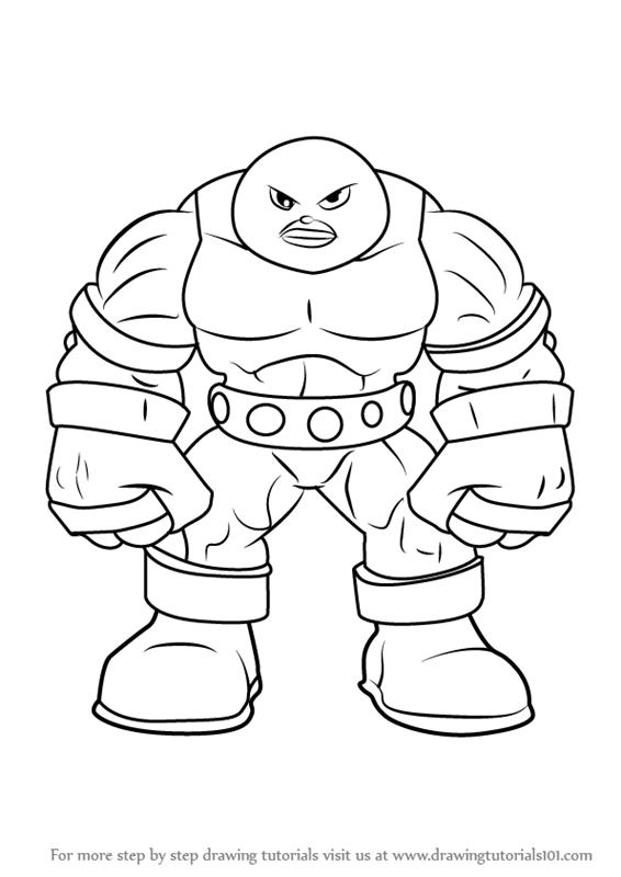 Juggernaut Drawing At Getdrawings Com Free For Personal Use