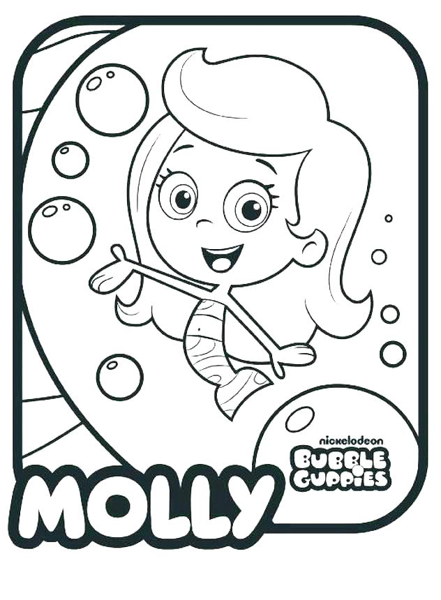632x860 Bubble Guppies Drawing Bubble Guppies By Bubble Guppies Draw Song