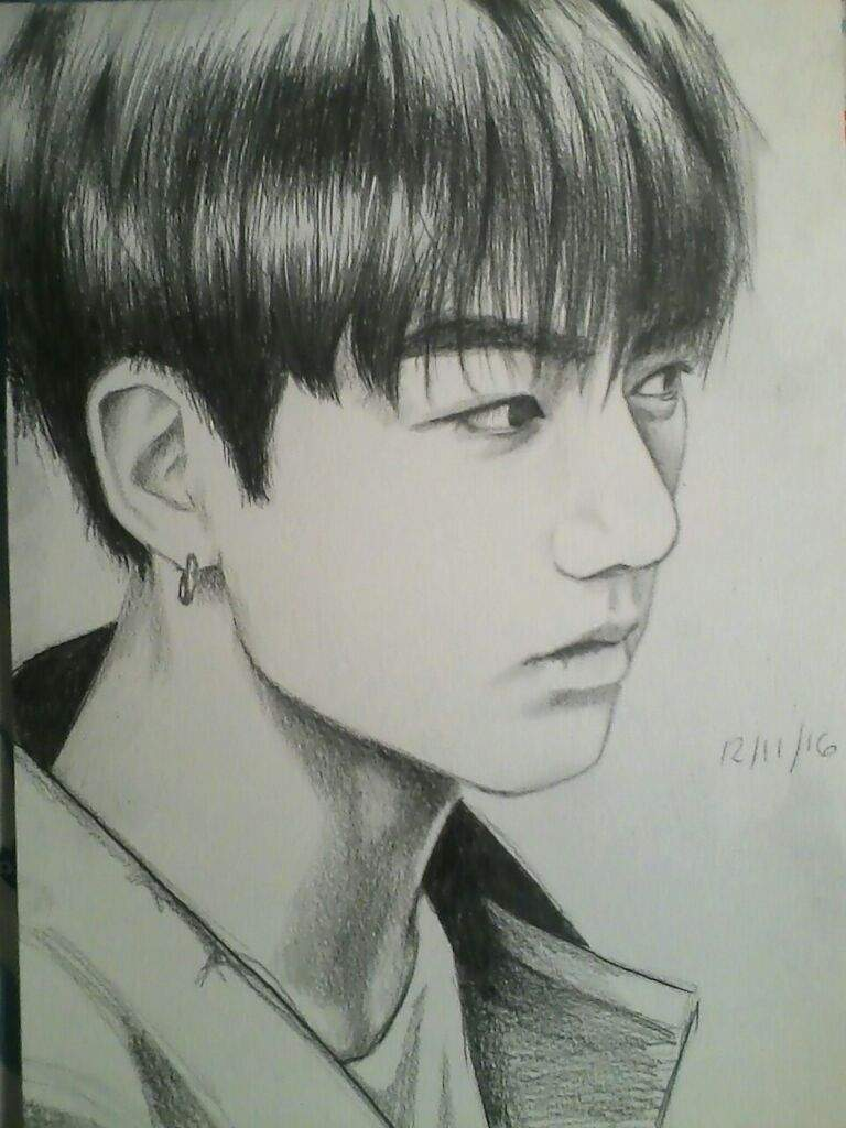 The Best Free Jungkook Drawing Images Download From 50 Free