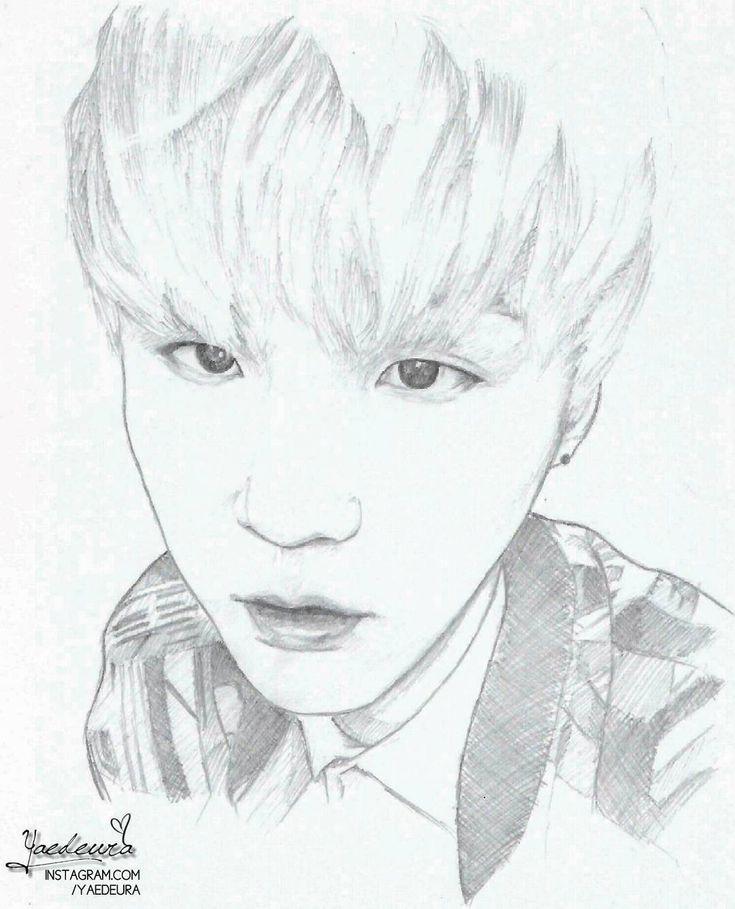 Jungkook Drawing Skills