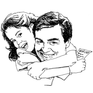 300x300 Collection Of Father And Daughter Hugging Clipart High