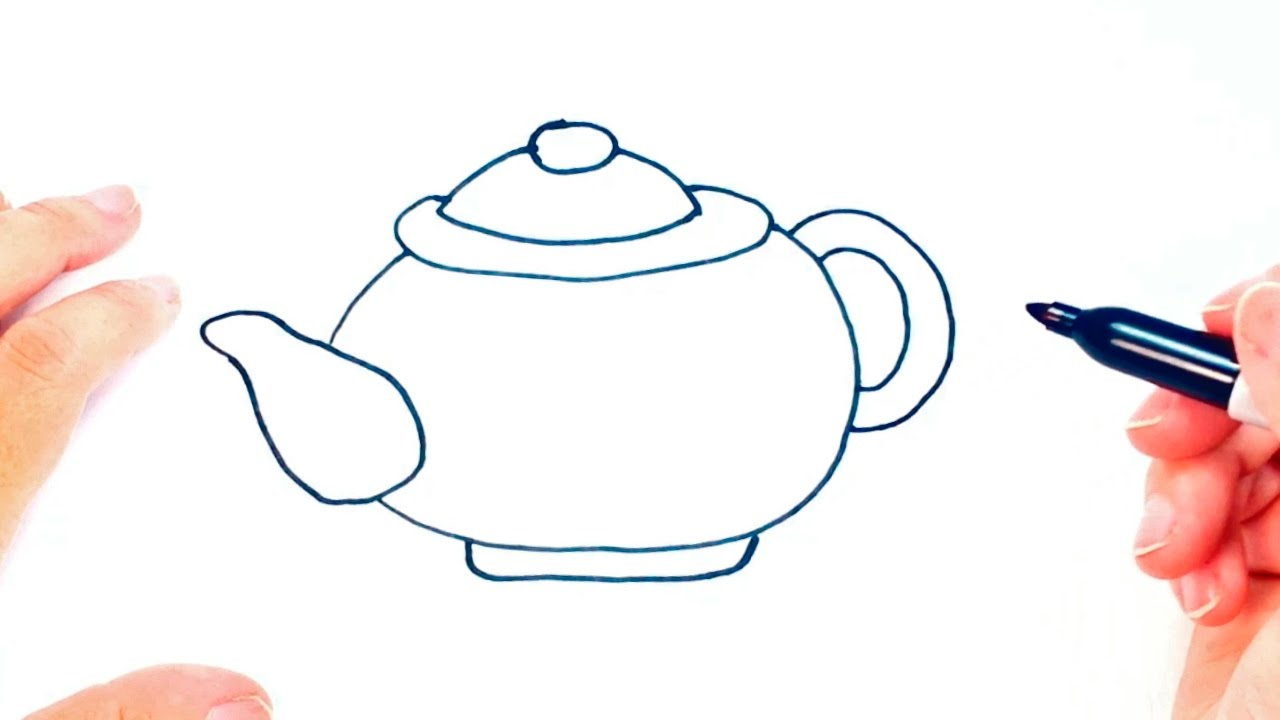 Kettle Drawing At Getdrawings Com Free For Personal Use Kettle