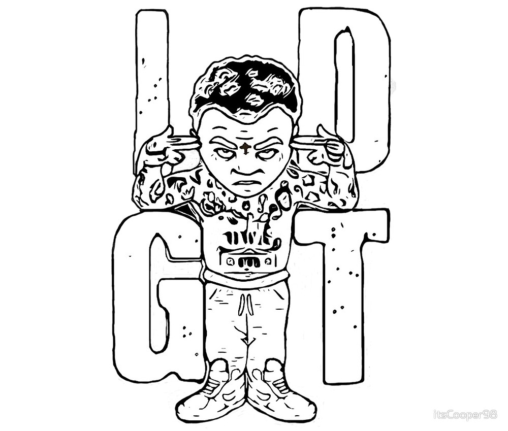 1000x849 Kevin Gates Idgt By Itscooper98 Redbubble