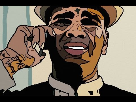 480x360 Kevin Gates Speed Abstract Cartoon