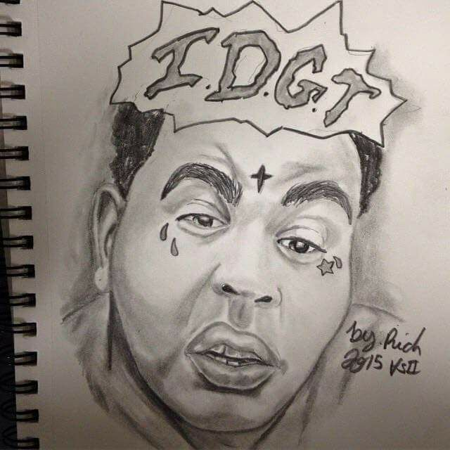 640x640 I Drew Kevin Gates By Reactshaunz
