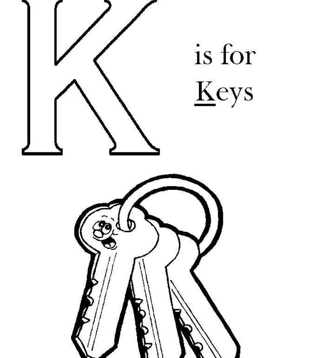 1047x1200 Key Cliparting Page Pencil Coloring Pages Drawing For Kids