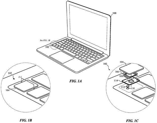 620x485 New Apple Macbooks Could Gain Customizable Keyboard Sensitivity
