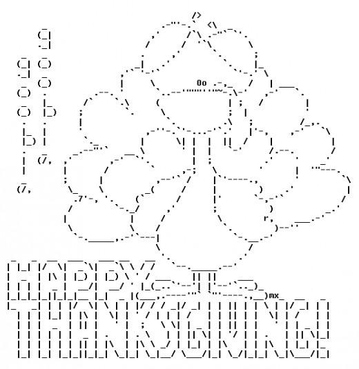 520x535 Best 38 Ascii Art Images On Ascii Art, Text Messages