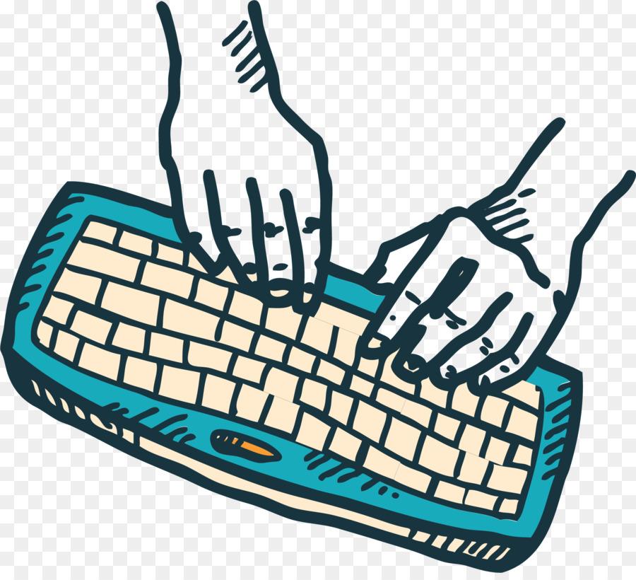 900x820 Computer Keyboard Drawing Animation Graffiti