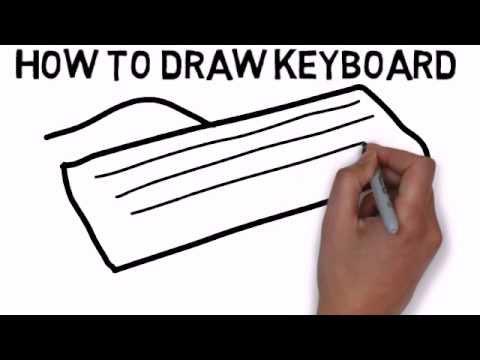 480x360 How To Draw Keyboard