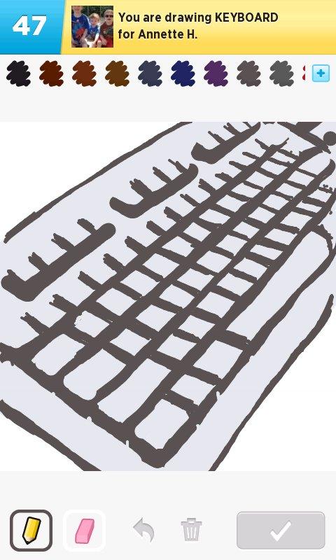480x800 Keyboard Drawings