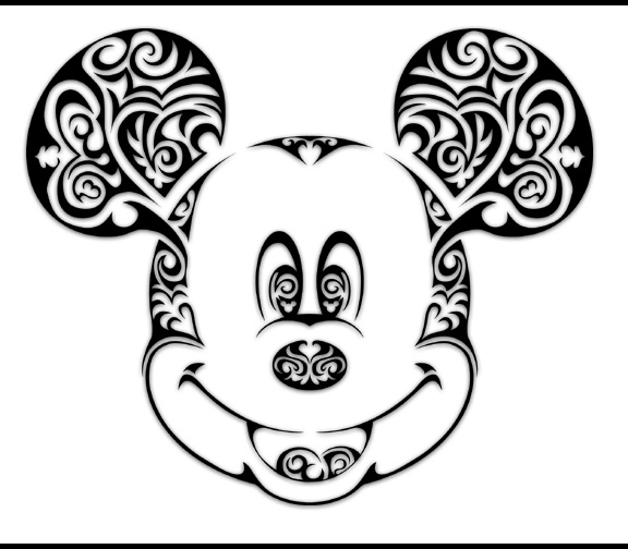 576x504 How To Type The Classic Mickey Symbol For Iphone, Ipad, Pc Or Mac