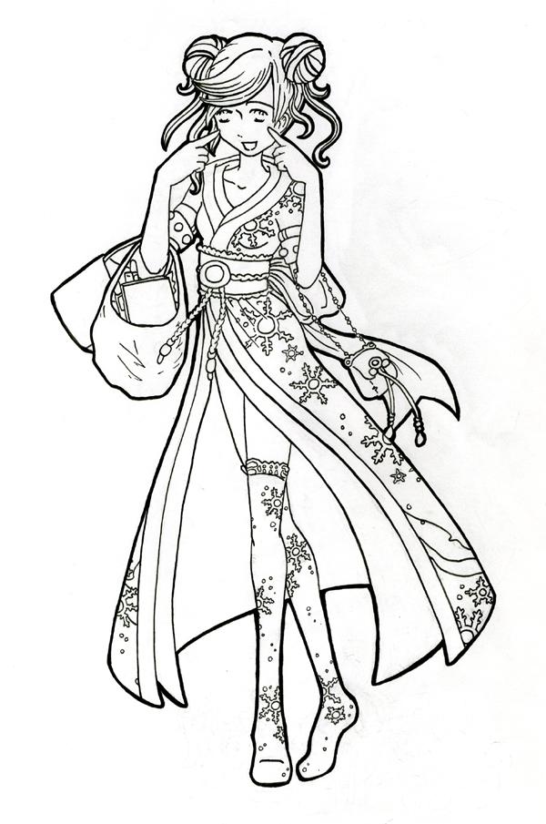 600x905 Shojo Beat Kimono Girl