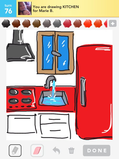Kitchen Drawing Easy At GetDrawings