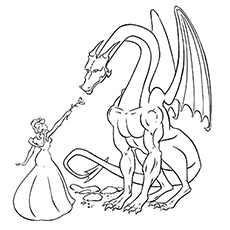 230x230 Top 25 Free Printable Dragon Coloring Pages Online
