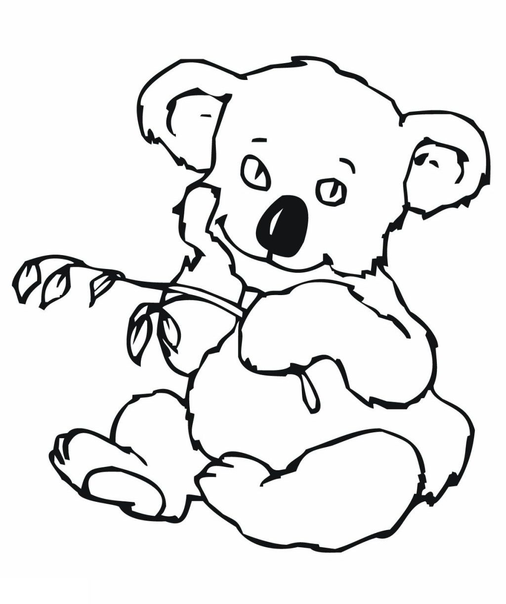 1024x1224 Creative Cuties Koala Printable Coloring Page Rubber Free Pages
