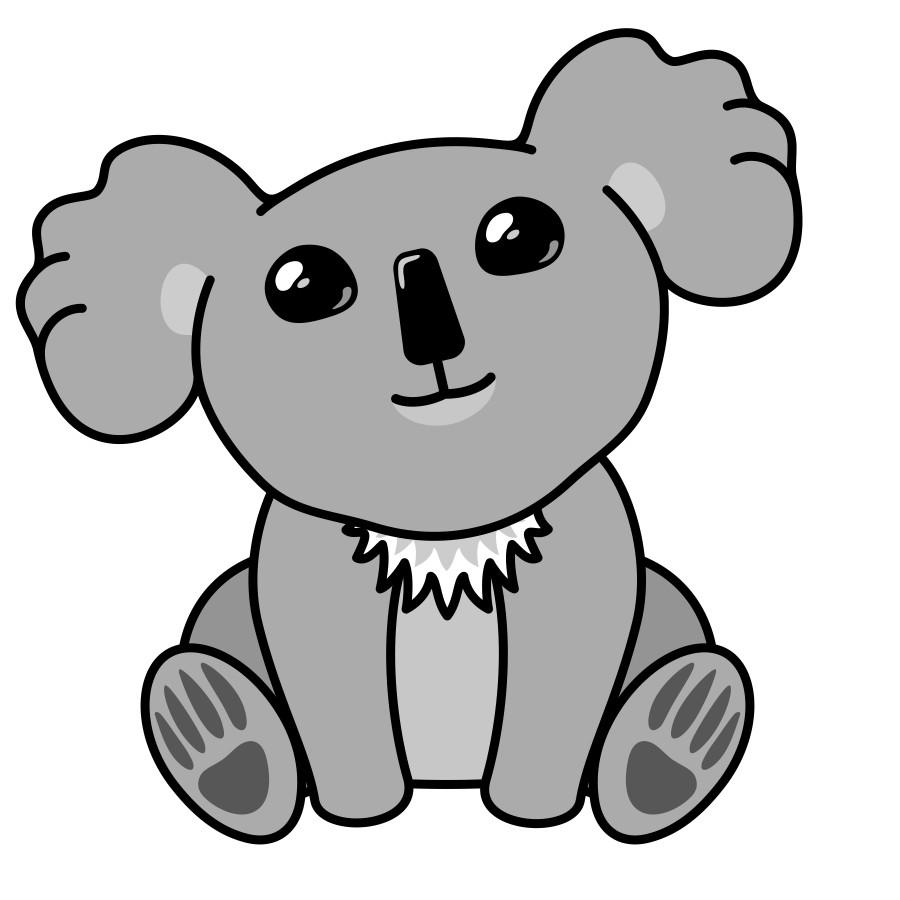 Koala Drawing Cute