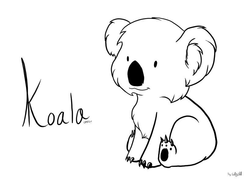 Aleksei Bitskoff. Visual Art and Illustrations.: Baby ... |Cute Baby Koala Leg Drawing