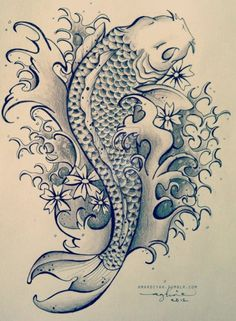 236x321 Koi Tattoo Designs Koi Tattoo Design, Koi And Tattoo
