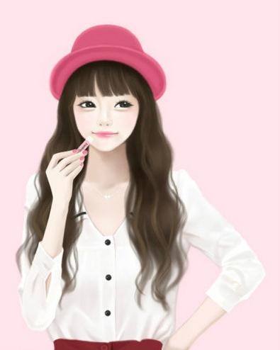 Korean Cartoon Girl Drawing At Getdrawings Free Download