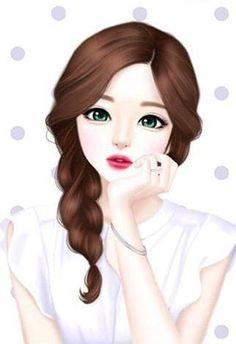 Korean Cartoon Girl Drawing At Getdrawings Com Free For Personal