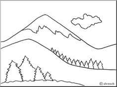 Landforms Drawing