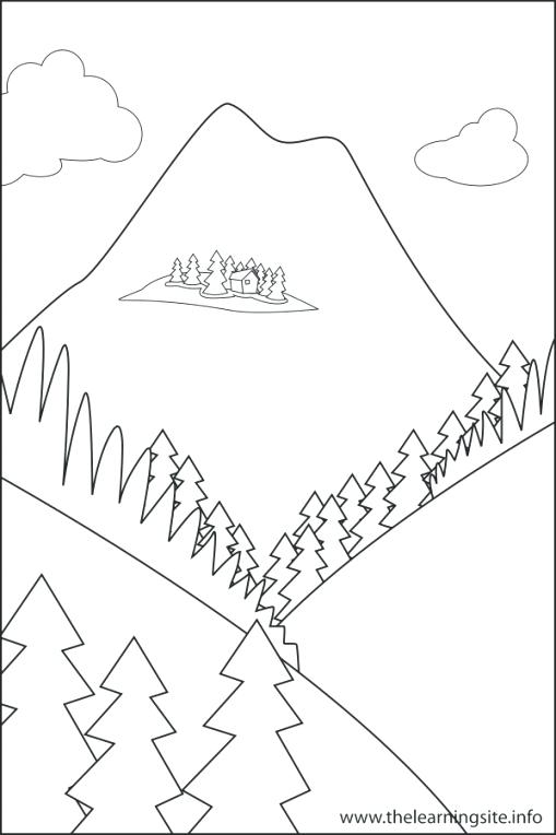 509x764 Landforms Coloring Pages The Learning Site Throughout Coloring