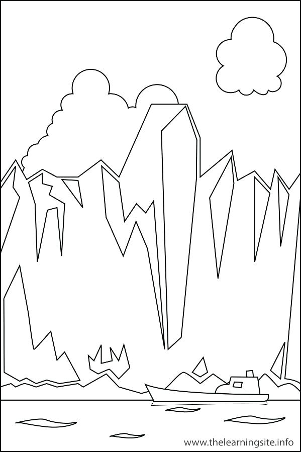 599x899 Free Landforms Coloring Pages Printable Coloring Free Coloring