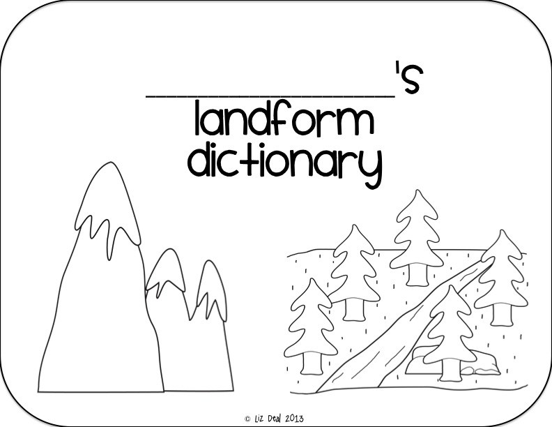 Landforms Drawing at GetDrawings.com | Free for personal use ...