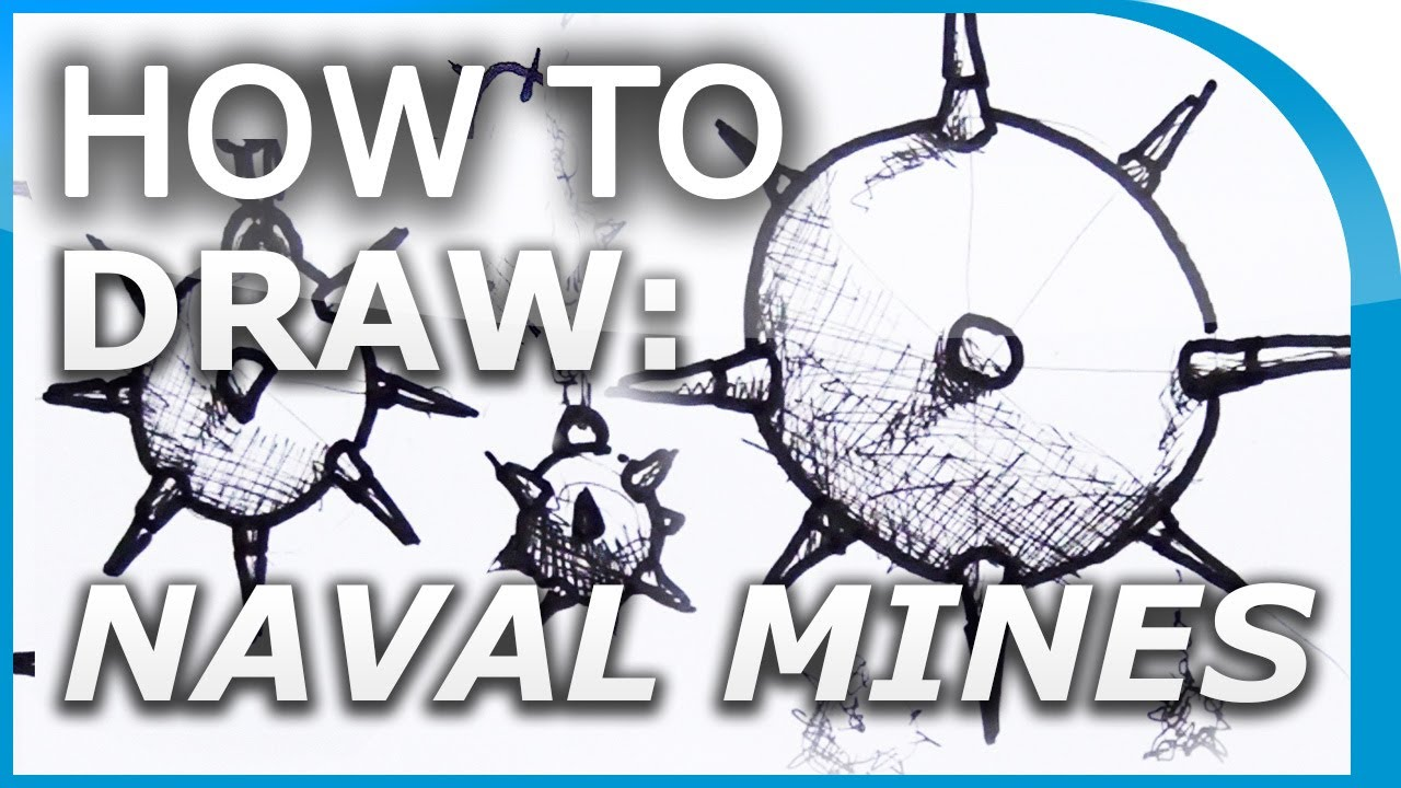 1280x720 How To Draw Naval Mines