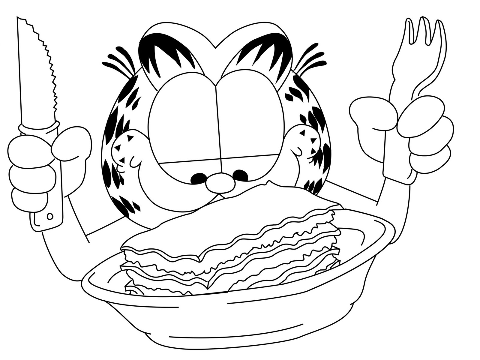 Lasagna Drawing