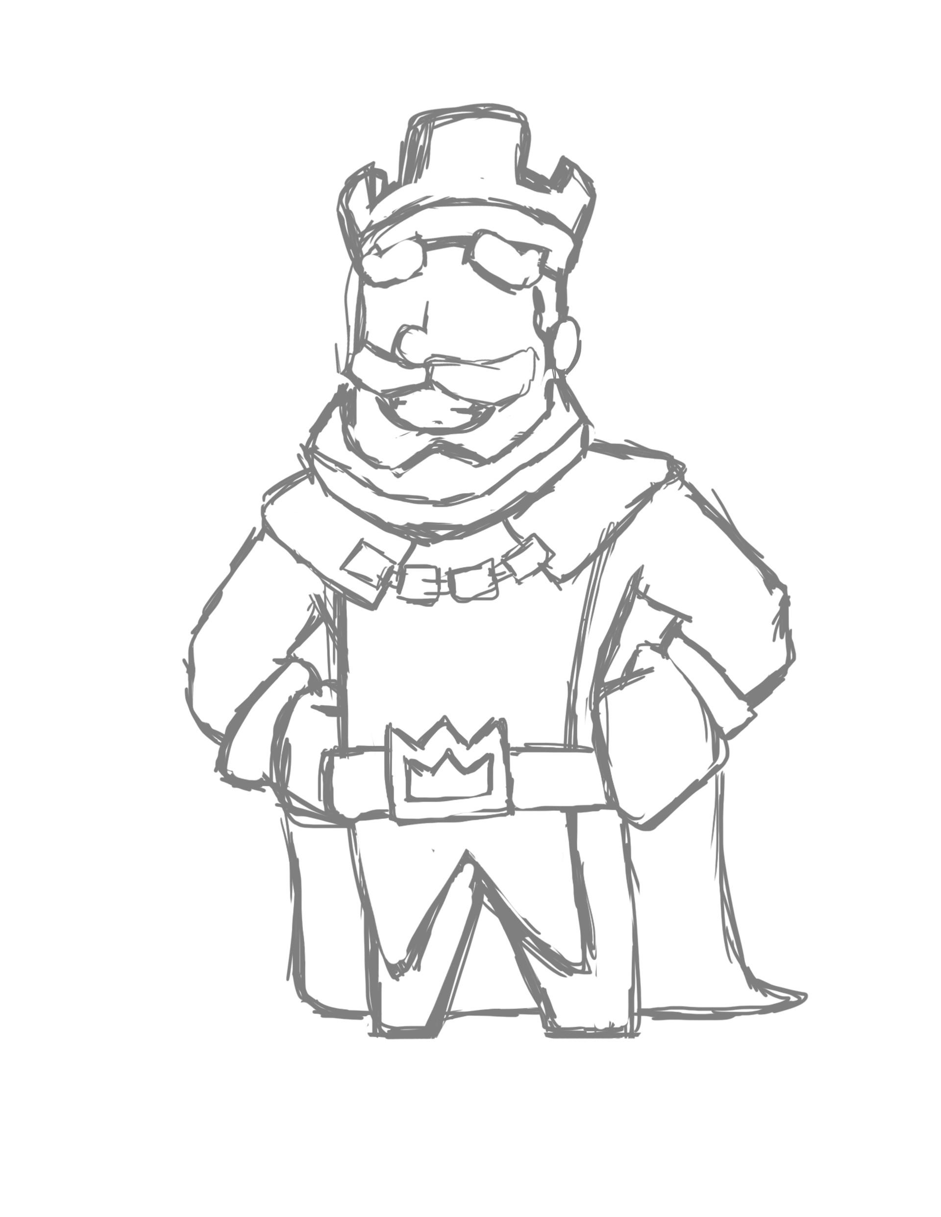 Latin Kings Drawing