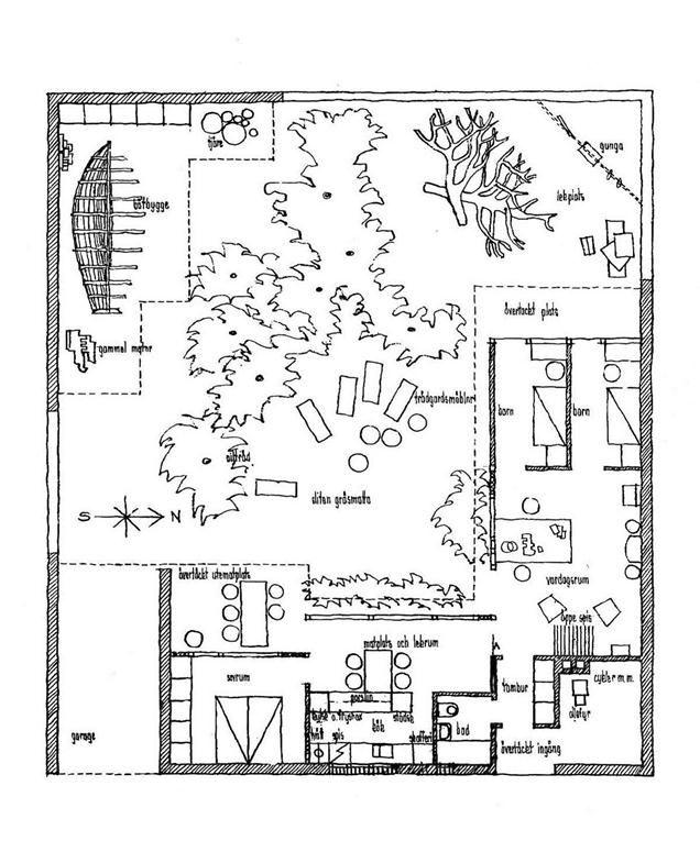 636x775 House Plan John Pardey On Utzon's Swedish Housing News