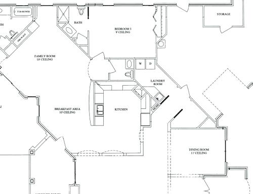 500x383 Rooms Layout Drawing Powder Room Layouts For Small Spaces
