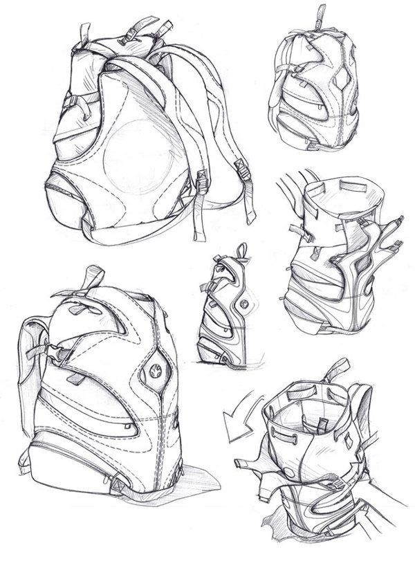 600x811 Layout Drawing Of Leather Goods