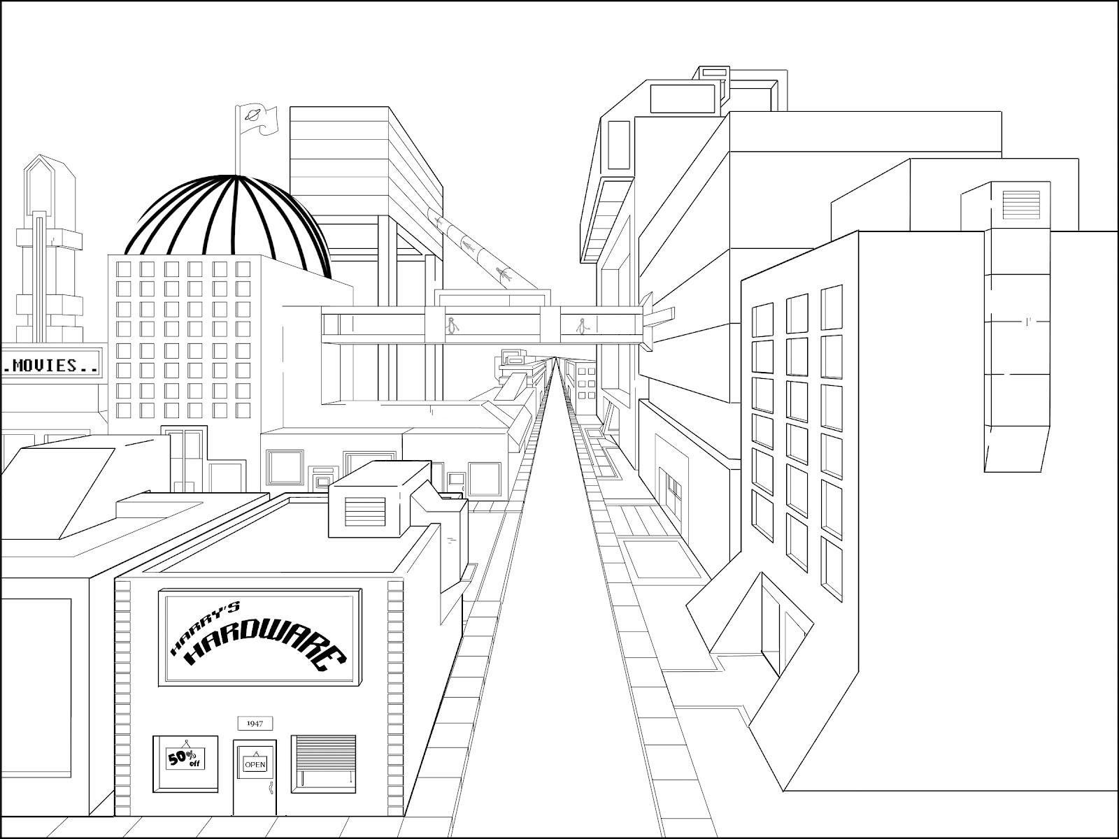 1600x1200 Bill Landwehr Animation City Street Layout