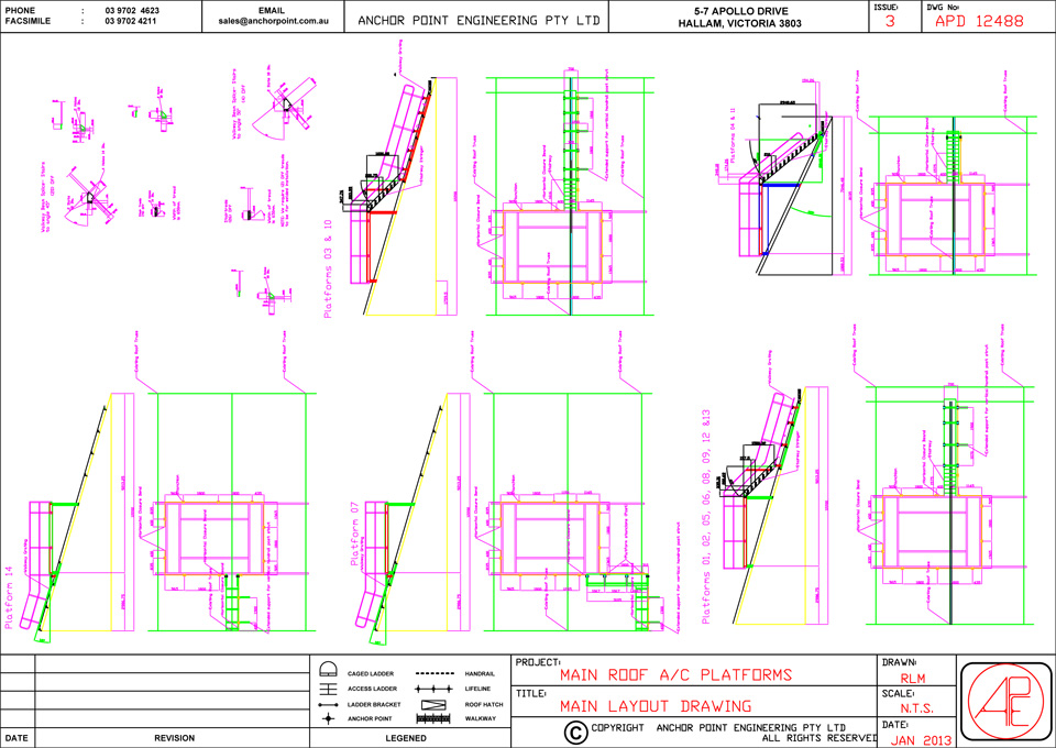 960x680 Anchor Point Engineering Layout Drawings