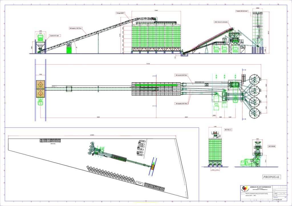 1024x724 Concrete Batching Plant Pdf Drawing Layout Amp Designs