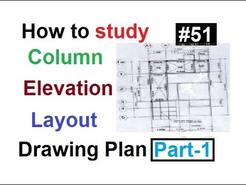 480x360 Drawing Study Elevation,layout Of Column In Urduhindi