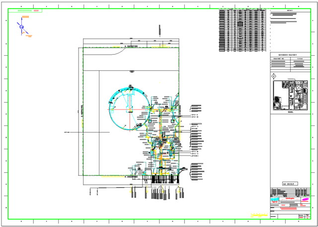 640x456 Equipment Layout Drawing