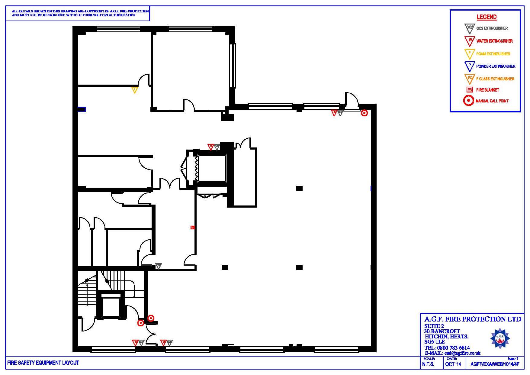1755x1241 Fire Extinguisher Layout Design Services Home, House Layout