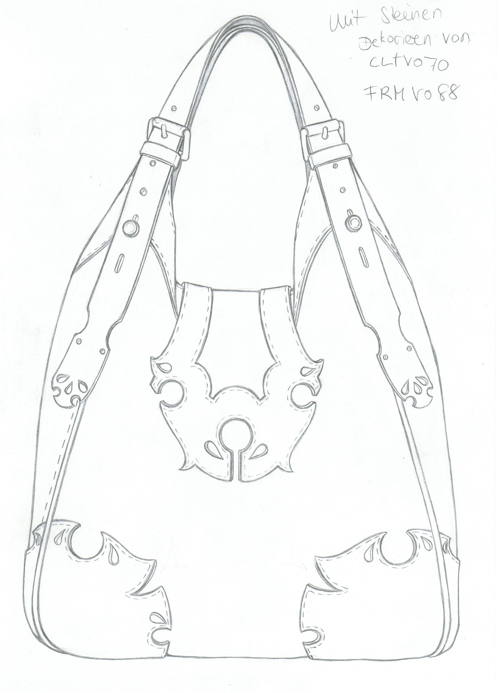 1654x2291 Pin By On Learning Bag, Sketches And Leather