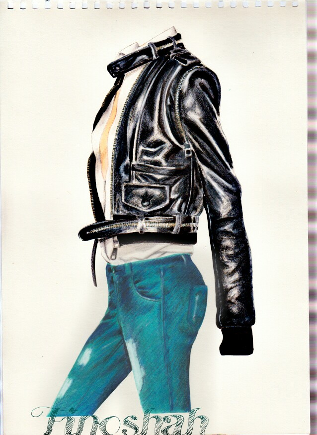 638x875 Fashion Illustration By Forouzan Shahkoopah Collage Technic 2013