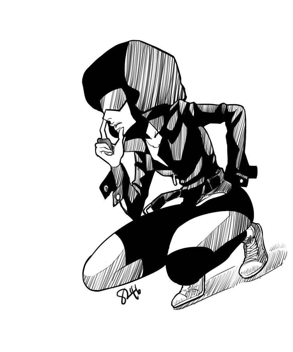 1000x1200 Bokjo's Steven Universe Garnet In Leather Jacket